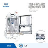 Ce ed unità dentale portatile approvata dalla FDA con il compressore d'aria senza olio del Auto-Contenitore