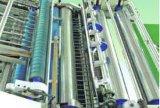 Tarjeta que introduce del alimentador automático lleno a la máquina del laminador de la flauta