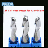 Карбид HRC55 Ball Nose Cutters для Aluminium