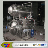 Glass Jar를 위한 증기 Spray Retort Sterilizer Autoclave