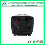 Inverseurs à haute fréquence de DC48V AC220/240V 2000W avec l'affichage numérique (QW-M2000UPS)
