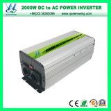 Invertitore automatico di potere utilizzato casa 2000W con il visualizzatore digitale (QW-M2000)