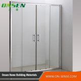Casella di alluminio dell'acquazzone del portello scorrevole per la stanza da bagno