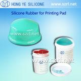추가는 실리콘고무를 인쇄하는 2개 부품 패드를 치료했다