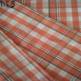 El hilado tejido del popelín de algodón teñió la tela para las camisas/alineada Rls40-39po de la ropa