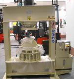 120t 8 ' - 20 ' 단단한 타이어를 위해 도구로 만들기를 가진 단단한 포크리프트 타이어 압박 기계