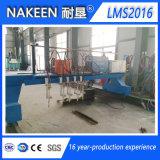 Máquina de estaca Lms2016 da flama do CNC do pórtico