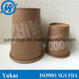 신식 6/8/12oz Pure Kraft Paper Coffee Cup Yh-L122