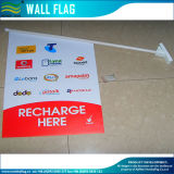 Anunciando a bandeira fixada na parede (M-NF14P03006)