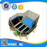 trampolín popular del juguete de los niños del diseño 2015novelty (YL-BC010)