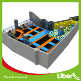 Trampolino dell'interno di divertimento dei bambini personalizzato costruzione di alta qualità di Liben