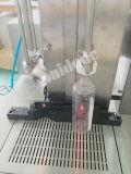 El llenador para el líquido con hace espuma