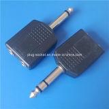 2.1/2.4/5.5mm ABS Material Plug (av-004)