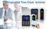 Reloj de tiempo de la huella digital con el lector de tarjetas de RFID (T9/ID)