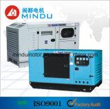 Generador diesel silencioso del estado de excepción 160kw Weichai