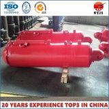Einzelner verantwortlicher Hydrozylinder für Tiefbaugeräten-hydraulischen Support