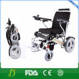 Fauteuil roulant se pliant handicapé par aide de courant électrique de mobilité