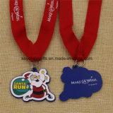 昇進のギフトの販売のためのカスタムクリスマスメダル
