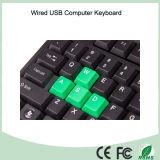 Einfacher Entwurfs-preiswerter Typ der Computer-Tastatur von der China-Fabrik (KB-1688-G)