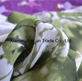 Hersteller-schwarzes Chiffon- Großhandelsgewebe für Kleid