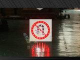 Panneau actionné solaire en aluminium de rotation de poteau de signalisation de signe de conseils