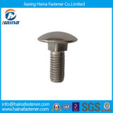 Parafuso de carro quadrado principal DIN603 da garganta do cogumelo