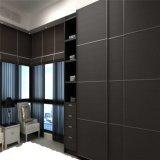 Brown-Melamin MDF-Schiebetür-Garderoben-Verkauf