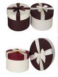 Runde Form-Blumen-verpackenkasten für Geschenk