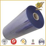 Película dura transparente desobstruída do PVC para a embalagem da medicina