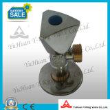 Выкованный латунный угловой вентиль шарика (YD-F5026)