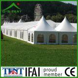 Tente de pagoda de bâti de Gazebo de cloche de jardin de l'aluminium 5X5m