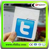 Petite étiquette imperméable à l'eau époxy faite sur commande de NFC avec le codage d'URL