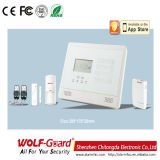 Alarme de assaltante Wolfguard GSM Home Security com iPhone e Android