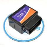 Миниая чернота V2.1 инструмента развертки Bluetooth OBD2 поверхности стыка OBD2 Elm327