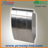 Morden Stainless Steel Wall Mounted Mailbox