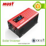 Ce 3kw estándar 24VDC de la fábrica ISO9001 del inversor solar puro de la onda de seno de la red