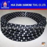 Le fil de diamant de qualité a vu la corde pour le découpage concret