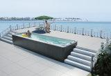 Monalisa 7.8m 옥외 수영 소용돌이 온천장 Jacuzzi 수영풀 (M-3325)
