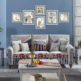 Conjunto de madera moderno del sofá del modelo de los muebles del nuevo estilo 2016
