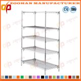 Shelving do fio de pano do armazenamento do armário do quarto Home de Ikea do cromo (Zhw156)