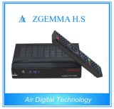 Alto sintonizador del OS DVB-S uno del linux de la CPU de los canales de Zgemma H.S del receptor de alta tecnología lleno de la TV vía satélite