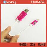 Mecanismo impulsor elegante del flash del USB para el iPhone