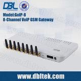 GoIP-8 GSM Gateway con 8 puertos de la tarjeta SIM GSM VoIP gateway