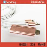 Telefono mobile all'adattatore di HDMI HDTV