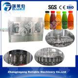 Máquina de rellenar de la botella de la bebida caliente plástica del jugo
