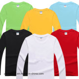 Рубашка хлопка втулки Mens высокого качества длинняя с изготовленный на заказ логосом