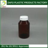 botella plástica de la cápsula del animal doméstico 180ml con el casquillo de la tapa del tirón