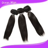 Cheveux droits non transformés crus péruviens bon marché de Péruviens de Vierge de l'armure 100% de cheveux humains