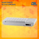Free GSM Remote SIM Serverの32のポートGSM SIM Box