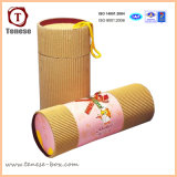 Cylinder semplice Cardboard Packaging Box per Gift